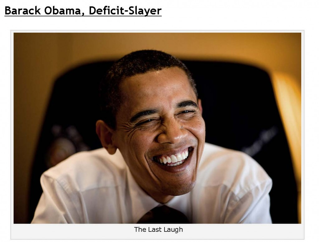Yglesias Obama Deficit Slayer