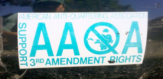 Bumper Sticker - Ithaca - Third Amendment