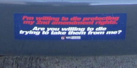 Bumper Sticker - 2nd Amendment