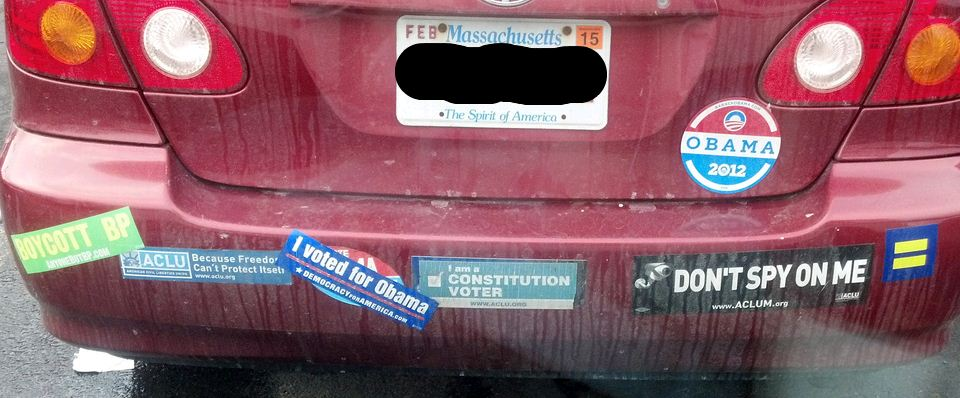 Bumper Stickers - Massachusetts - Constitution Voter