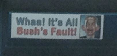 Bumper Sticker - Aurora CO - Waah