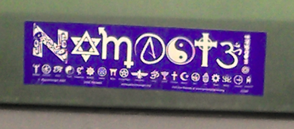 Bumper Sticker - Ithaca - No.