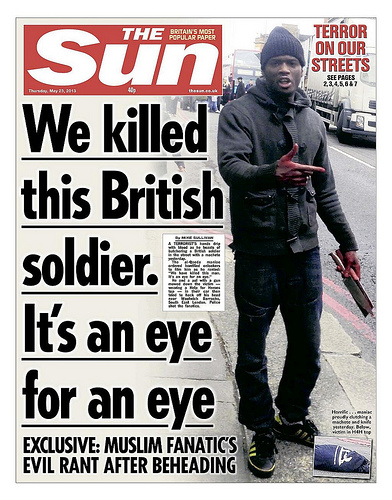 The Sun Cover - Machete Terror Attack