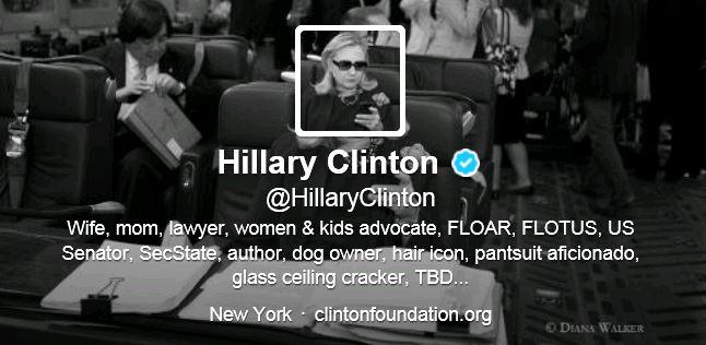 Hillary Clinton Twitter Header