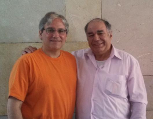 (me and Israel Pickholtz aka Jerusalem Genealogist)