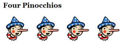 WaPo Four Pinnochios Kerry
