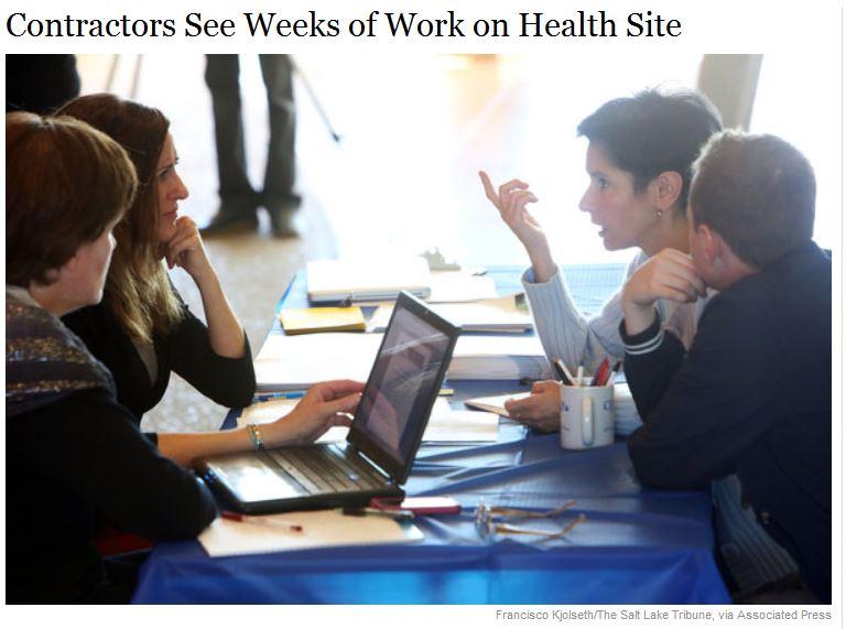 NYTimes - Contractors seek weeks of work