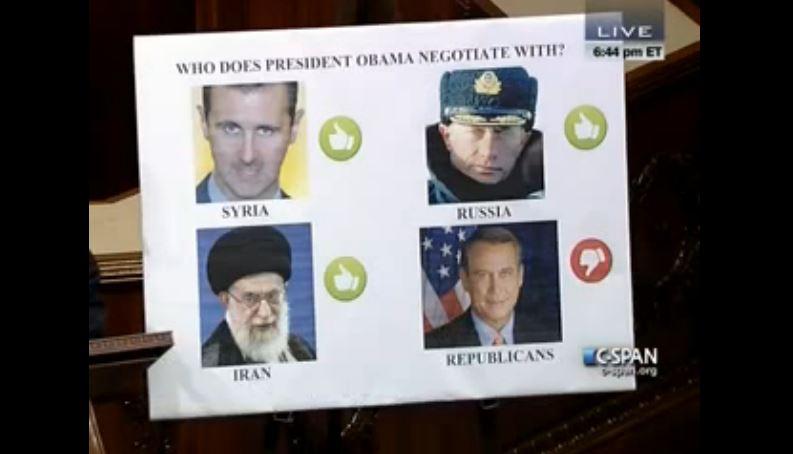 Who Obama Negotiates With