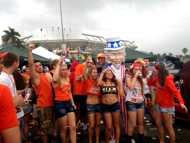 (Generation Opportunity U. Miami Tailgate)(via Buzzfeed)