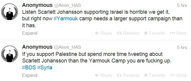 Anonymous Israel Johansson Yarmouk