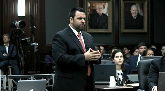 (Defense counsel Cory Strolla)