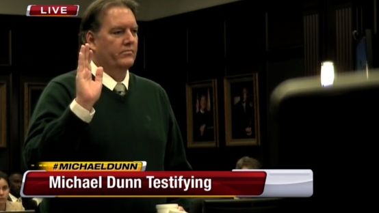 (Defendant Michael Dunn, being sworn to testify.)
