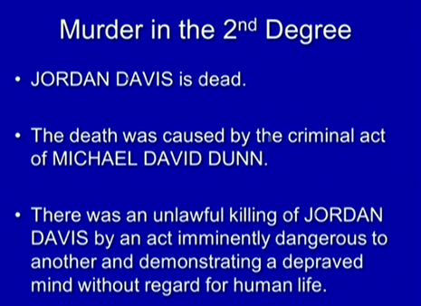 (2nd degree murder under facts of this case.)