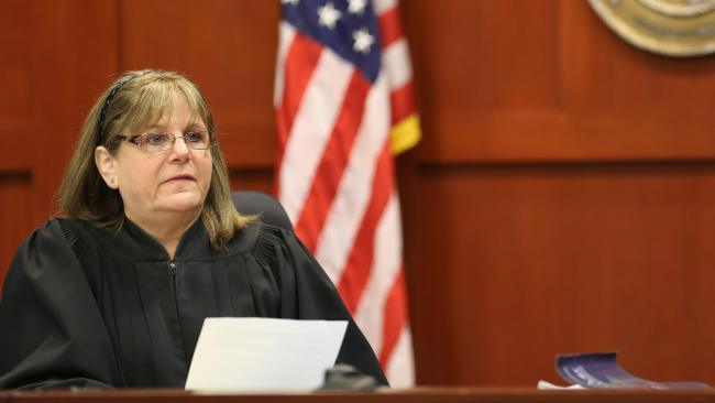 Circuit Judge Debra Nelson, who presided over the murder trial of George Zimmerman