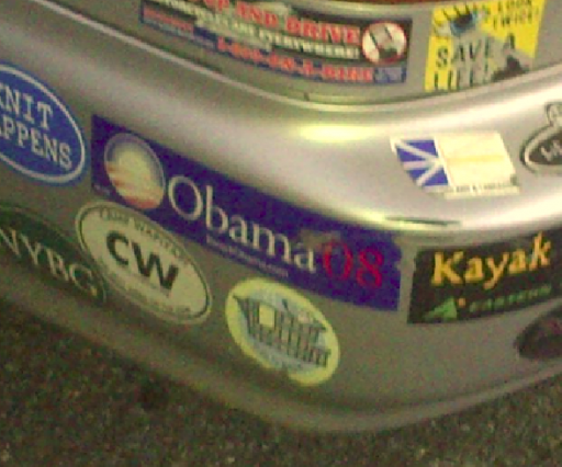 Bumper Sticker - Yonkers - Obama close up