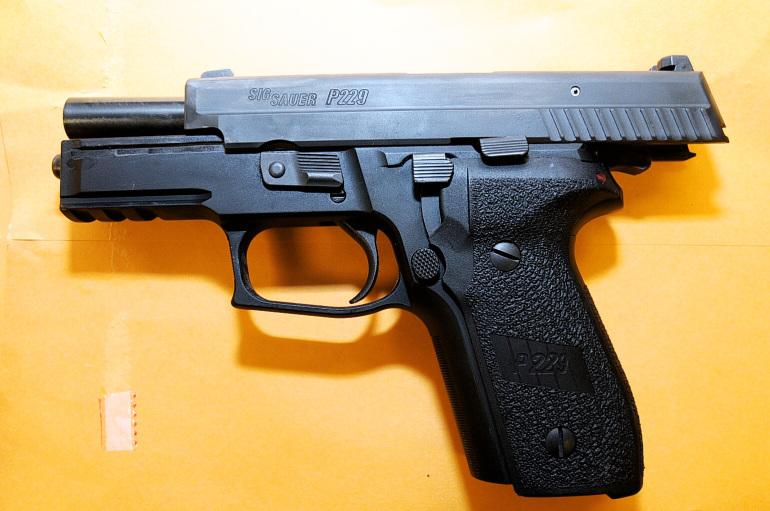 Ferguson PO Darren Wilson service pistol Sig 229