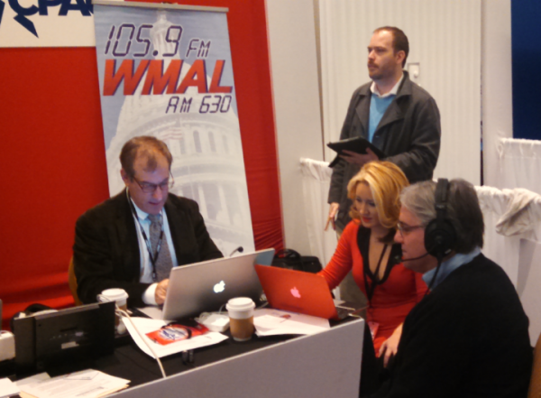 William Jacobson on Larry O'Connor Show at CPAC 2015