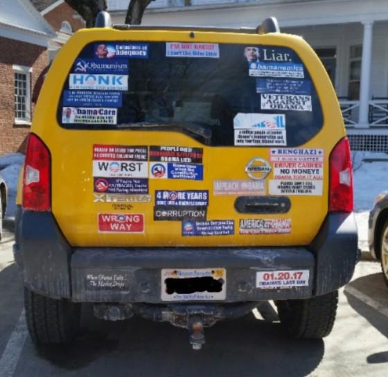Bumper Stickers - Berkshires MA - Anti Obama Full
