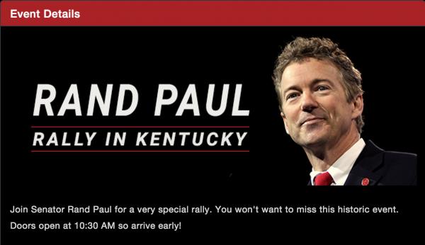 Rand paul president announcement