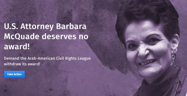 Barbara McQuade Rasmea Defense Committee