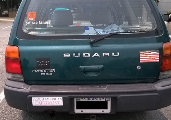Bumper Stickers - Virginia - Proud Capitalist