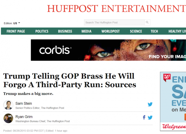 http://www.huffingtonpost.com/entry/trump-telling-gop-brass-he-will-forego-a-third-party-run-sources_55de06eae4b04ae4970577d3?oypn9udi