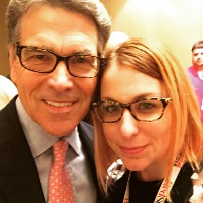 Texas Governor Rick Perry 2016 RedState Gathering 2015 Atlanta Erick Erickson Kemberlee Kaye