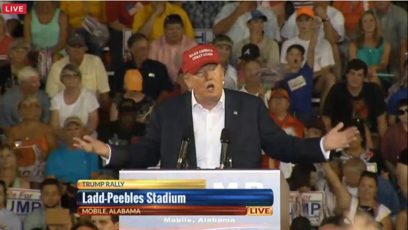 Trump Mobile Podium