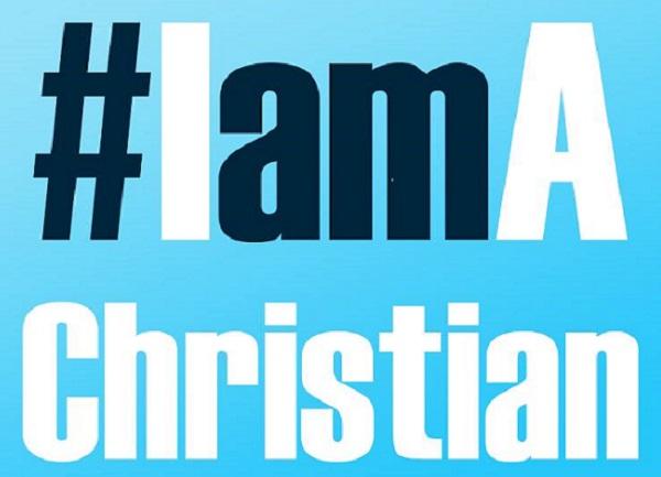 hashtag IamAChristian