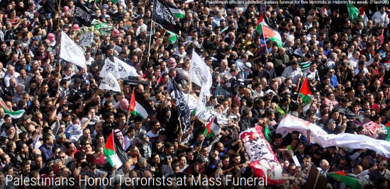Palestinians Honor Terrorists