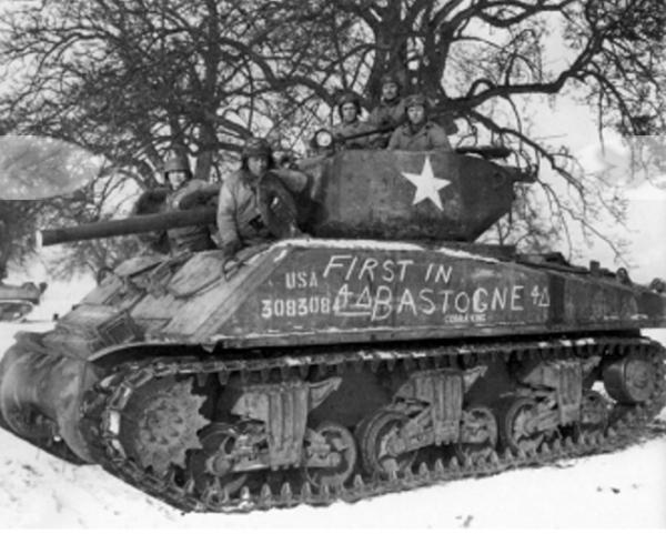 Cobra King First Tank Bastogne