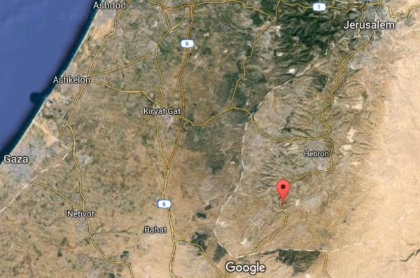 Otniel Satellite Map