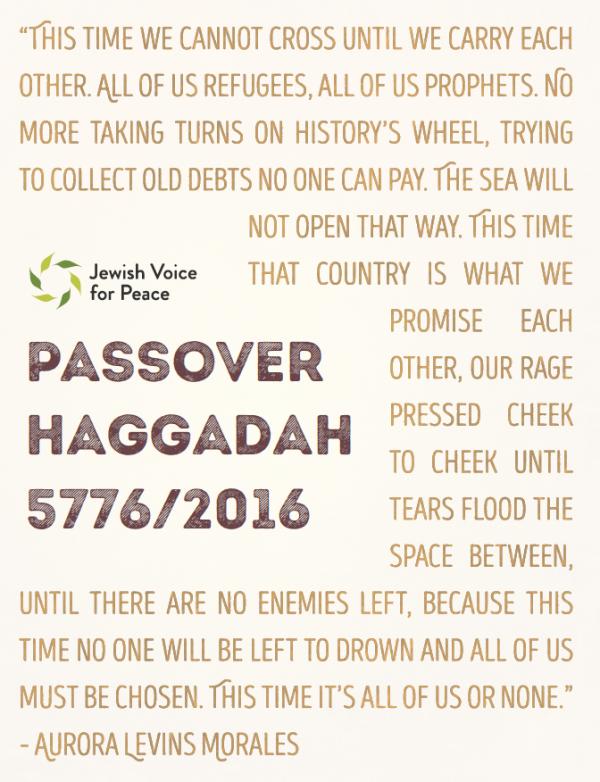 JVP 2016 Haggadah