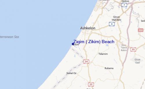 Zikim Beach