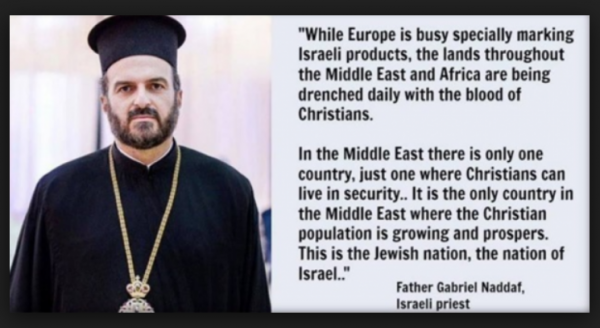 Gabriel Naddaf, Christians Thrive in Israel