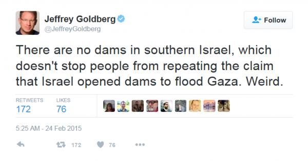Gaza Dams Hoax