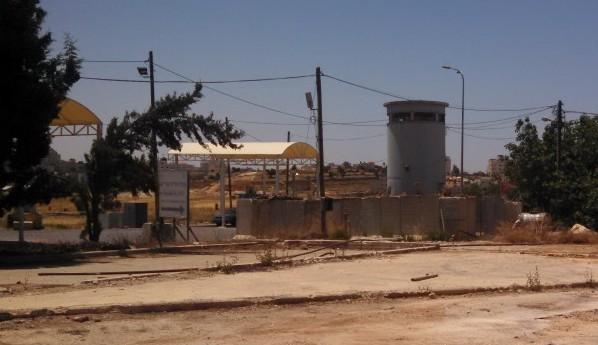 Israel Checkpoint to enter Ramallah