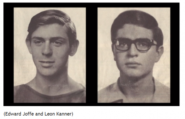 Hebrew University students murdered in 1969