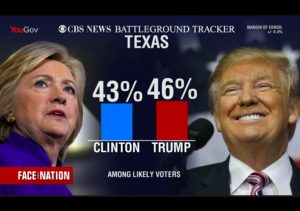 hillary trump texas poll