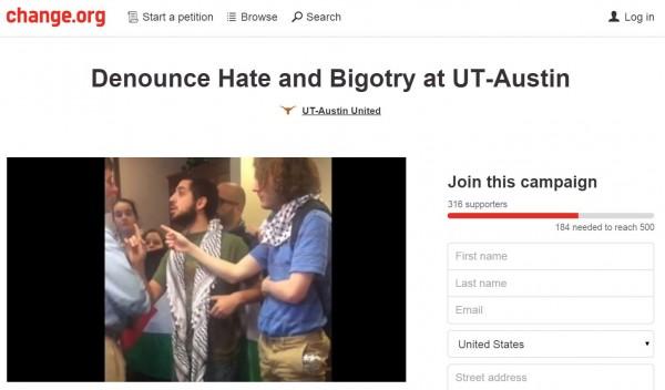 https://www.change.org/p/denounce-hate-and-bigotry-at-ut-austin-2?