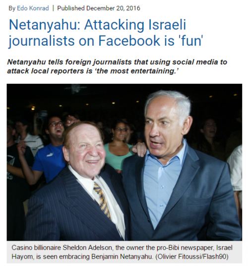 https://972mag.com/netanyahu-attacking-israeli-journalists-on-facebook-is-fun/123809/