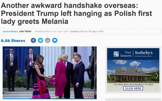 https://www.usatoday.com/story/news/politics/onpolitics/2017/07/06/donald-trump-melania-trump-meets-polish-president-and-first-lady/454763001/