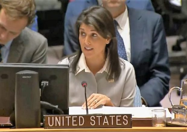 UN Envoy Haley: Trump's Accusers Have Right to be Heard