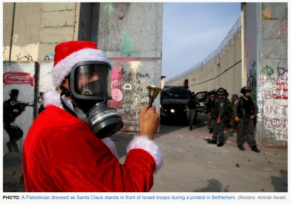 http://www.abc.net.au/news/2017-12-24/palestinians-dressed-as-santa-clash-with-israeli-army-in-bethle/9284692