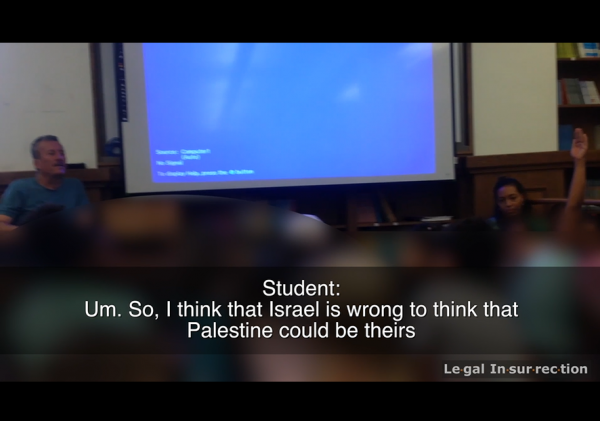 tamimi-event-video-student-israel-wrong-to-think-palestine-could-be-theirs