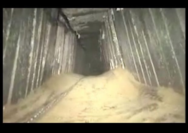 Israeli army destroys cross-border Hamas tunnel