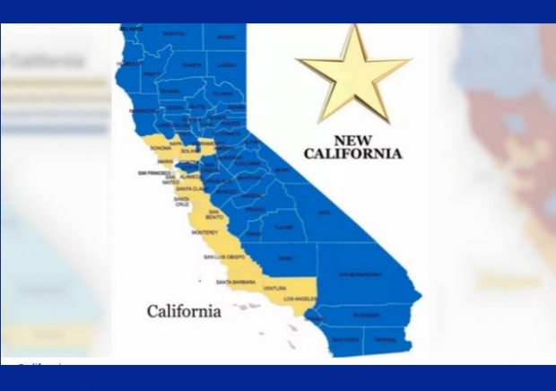 Group wants to create 'New California' as 51st new state