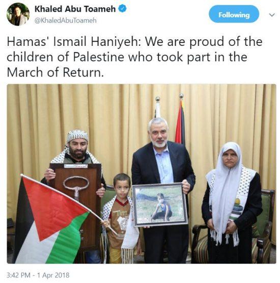 https://twitter.com/KhaledAbuToameh/status/980530863904624641