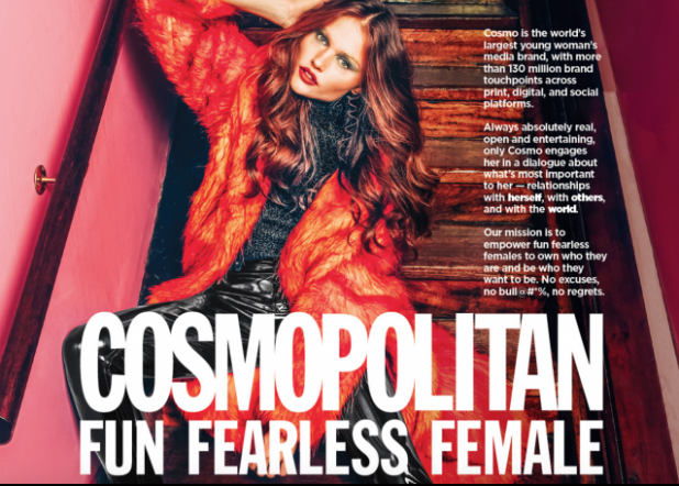 Walmart to remove Cosmopolitan magazine from checkout lines
