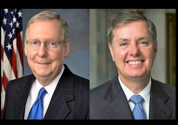 https://upload.wikimedia.org/wikipedia/commons/thumb/4/41/Mitch_McConnell_official_portrait_112th_Congress.jpg/474px-Mitch_McConnell_official_portrait_112th_Congress.jpg https://commons.wikimedia.org/wiki/File:Lindsey_Graham,_official_Senate_photo_portrait_cropped.jpg